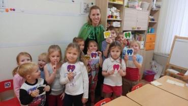 «День здоровых зубов» в детском саду «Русинка»