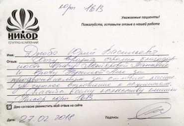 Дзюба Юрий Васильевич
