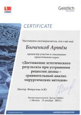 Быченков Артём Сергеевич