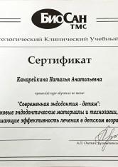 Канарейкина Наталья Анатольевна