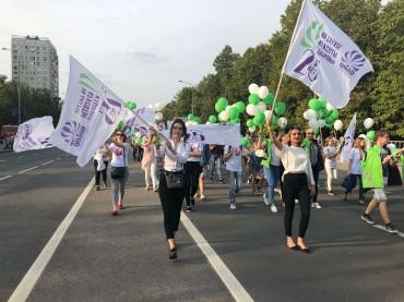 Торжественное шествие в честь Дня Города 2018. Зеленограду 60 лет!