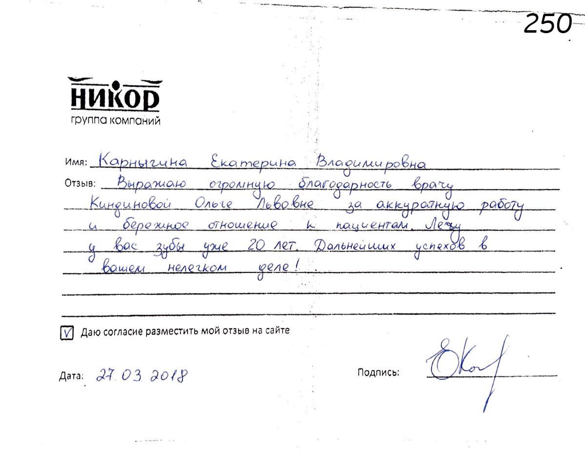 Карныгина Екатерина Владимировна
