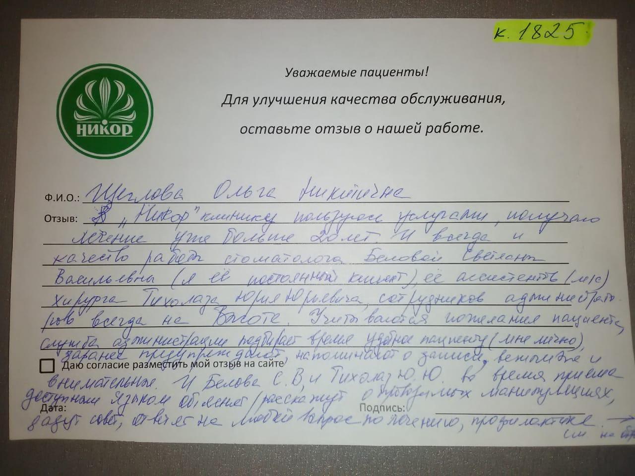 Ольга Никитина Щ.